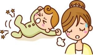Беспокойство и терпение мамы