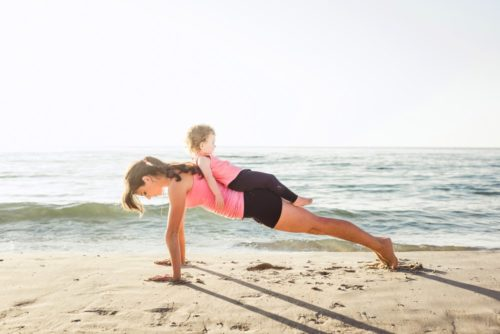 Фитнес для мамы и ребенка