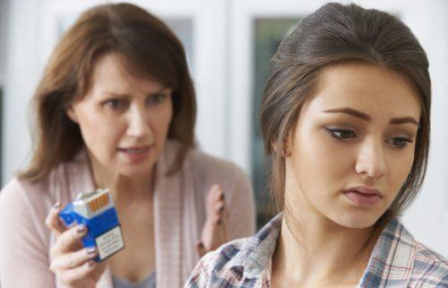 Курение подростков и родители