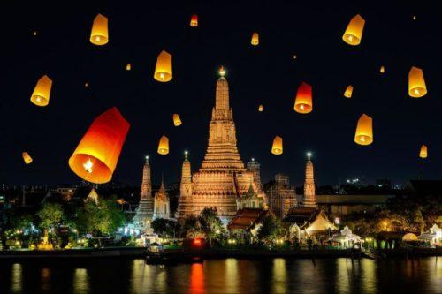 Праздник в Тайланде