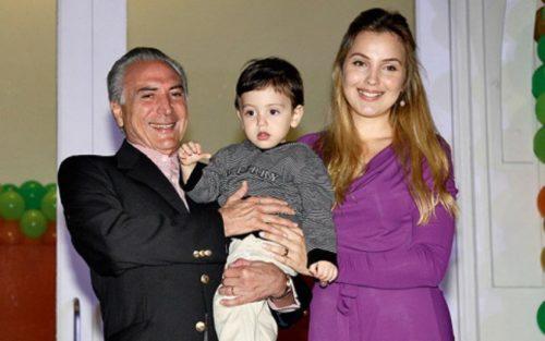 Президент Бразилии и его сын