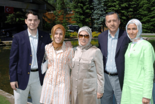 Президент Турции и его дети