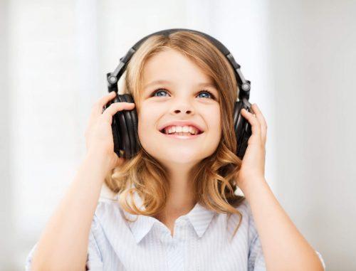 Ребенок и аудио