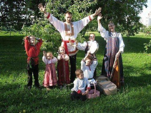 Семейные традиции на Руси
