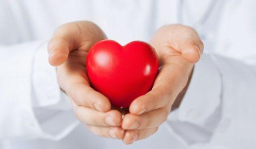 Сердечки-мячики