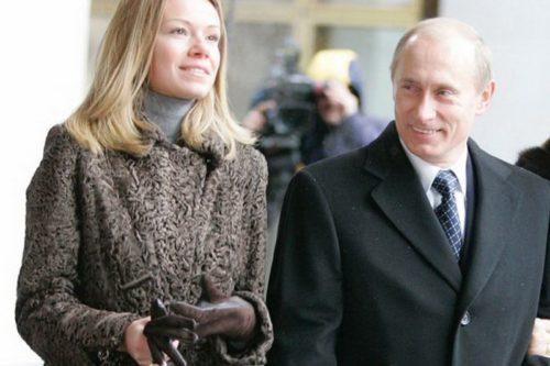 В.В. Путин со своей дочерью Марией