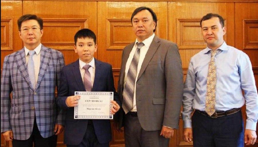 вундеркинд из Казахстана