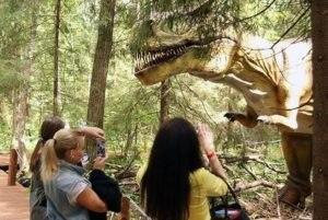 Парк динозавров «Эволюция» в Этномире