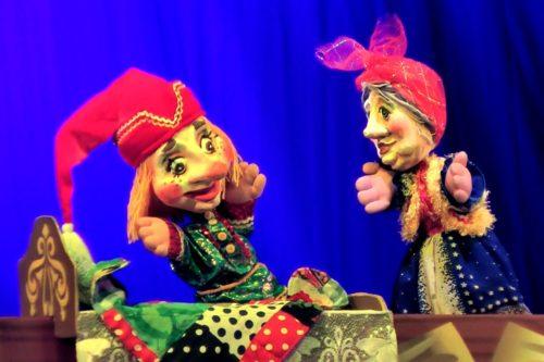 Русский театр Петрушка / Сцены из жизни Петрушки / Фото с сайта m.rgtk.ru