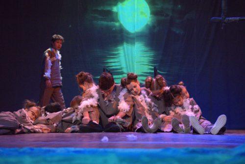 """Спектакль """"ЧАЙКА ПО ИМЕНИ ДЖОНАТАН ЛИВИНГСТОН"""" на сцене Казанского ТЮЗа"""
