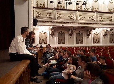 Экскурсии по театру с педагогом / Фото Instagram