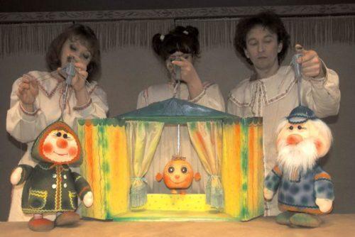 """""""Колобок"""" на сцене театра кукол Новосибирска"""