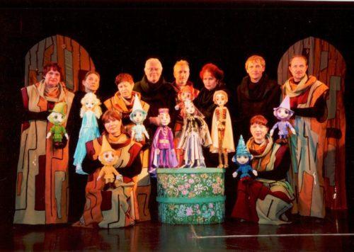 Белоснежка и семь гномов на сцене Липецкого театра кукол