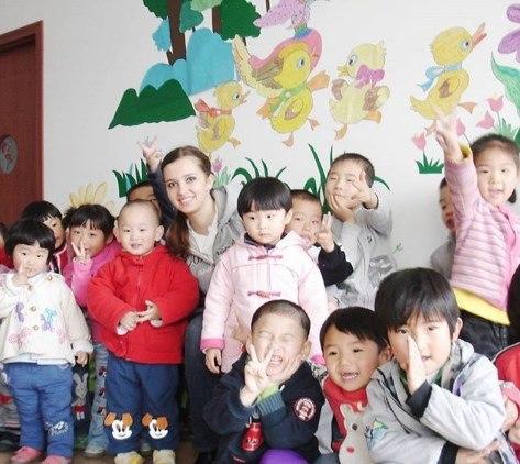 В детском саду в Китае