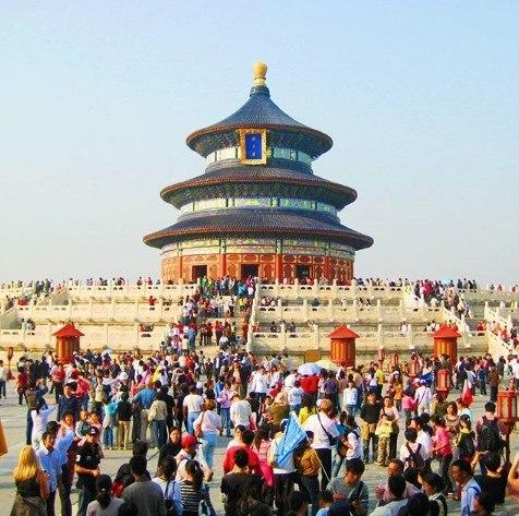 Жизнь в Китае. Храм Неба.
