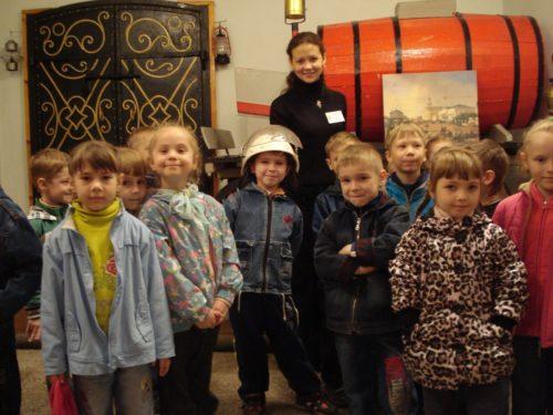 Маленькие Гости Музея