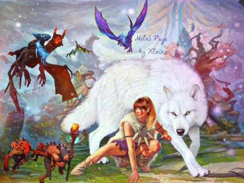 Мила Алиева в мире Dota 2