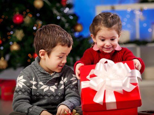 Новогодний подарок ребенку