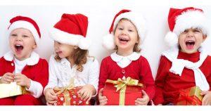 Дети и новогодние подарки