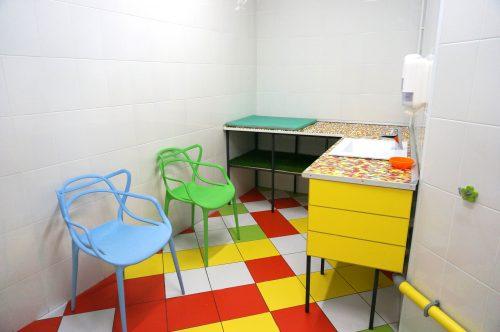 Комната для ребенка и матери