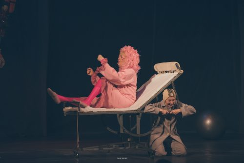 Оскар и Розовая Мама