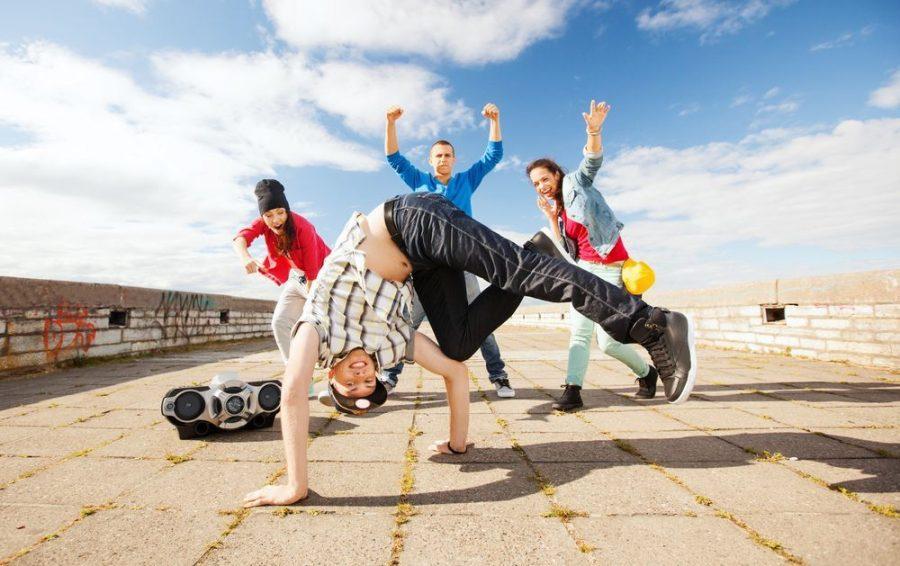 Подростки и танцы
