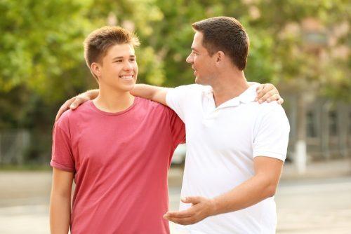 Подросток и родитель