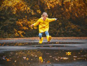 Дети и осень