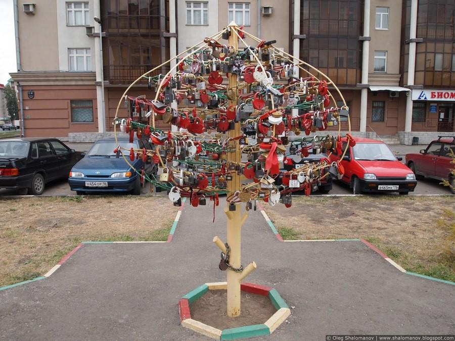 Романтические места на Петербургской