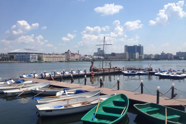 Прокат катамаранов и лодок на Озере Кабан
