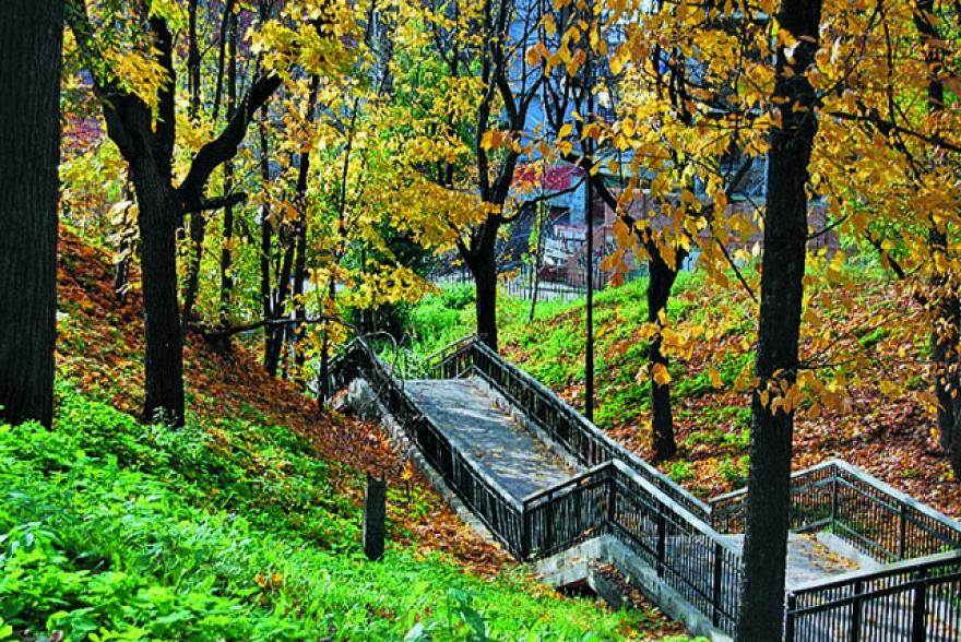 Сад Эрмитаж в Казани