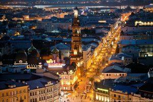 Смотровая площадка Богоявленского собора