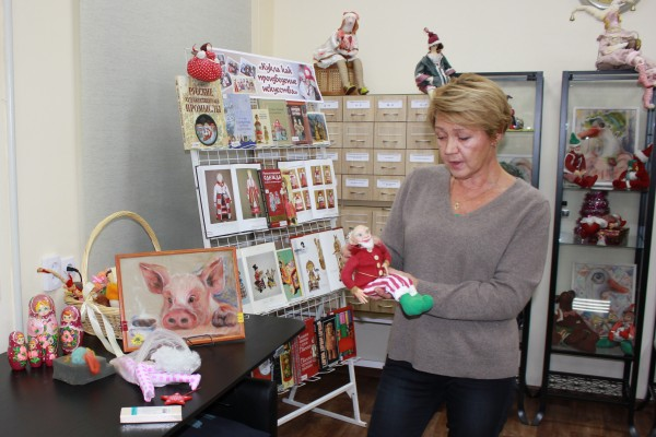 Авторская выставка кукол