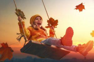 Осень и дети