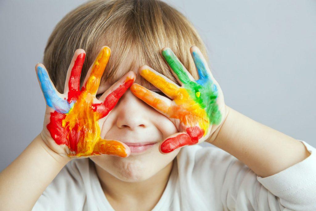 Ребёнок и цвета